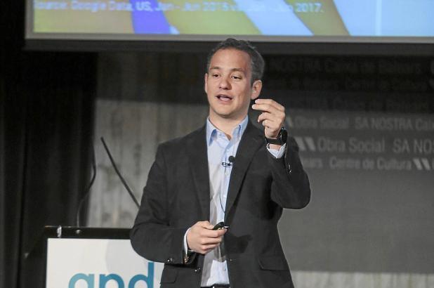 Miguel Moyá, Google-Manager für Mallorca, äußerte sich auf einer Konferenz zum Thema Digitalisierung zum jüngsten Facebook-Skand