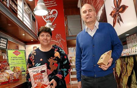 Sie leiten die Geschicke des Familienbetriebs: Coloma Crespí und ihr Ehemann Juan Velasco.