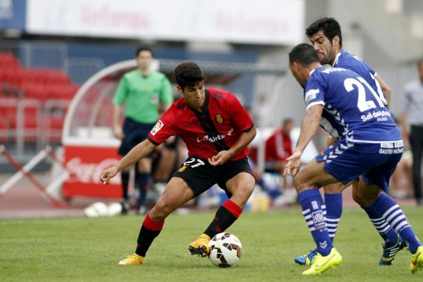 Im roten Trikot von Real Mallorca machte Marco Asensio seine ersten Schritte im Profifußball.