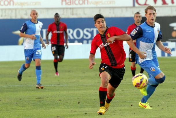 Der Mallorquiner Marco Asensio wurde in der 59. Minute eingewechselt.