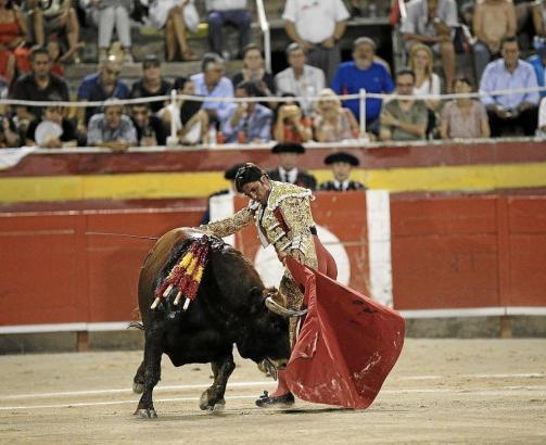 Dieser Stier könnte der letzte sein, der auf Mallorca getötet wurde. Die Aufnahme stammt aus dem August vergangenen Jahres.