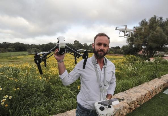 Von solchen Drohnen gibt es schätzungsweise 500 auf den Balearen.