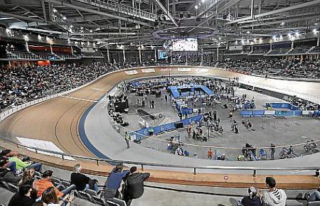 """Das """"Six Day Final"""" soll spannenden Sport und gute Stimmung in die Palma Arena bringen."""