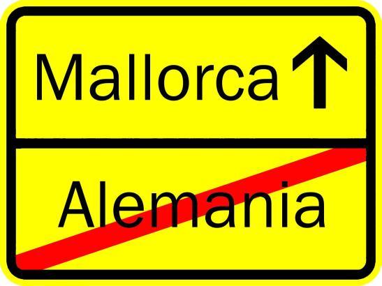 Tschüss Deutschland, hallo Mallorca.