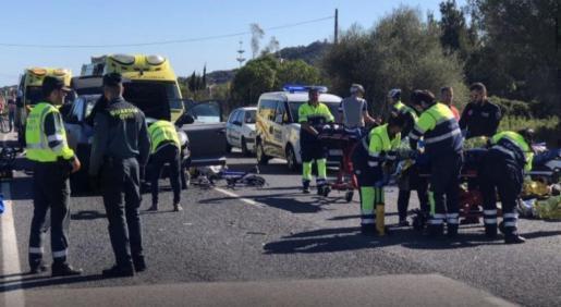 Zu dem Unfall war es am Donnerstag bei Capdepera gekommen.