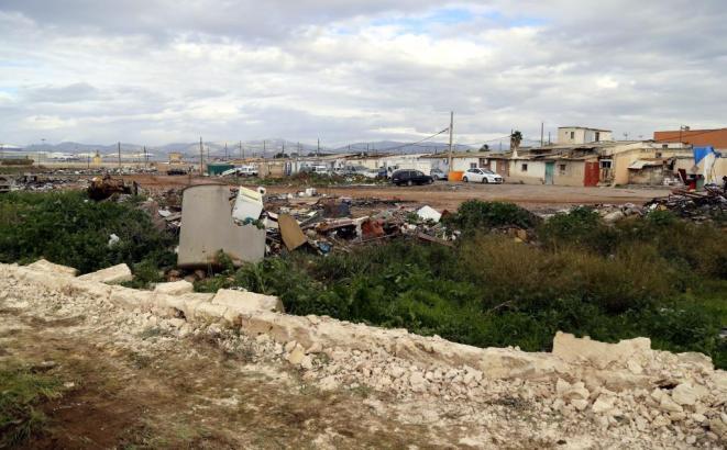 Die Barackensiedlung Son Banya auf Mallorca.