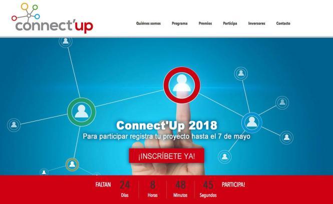 Die Anmeldungsfrist für den Unternehmerwettbewerb Connect'Up geht vom 12. April bis 12. Mai.