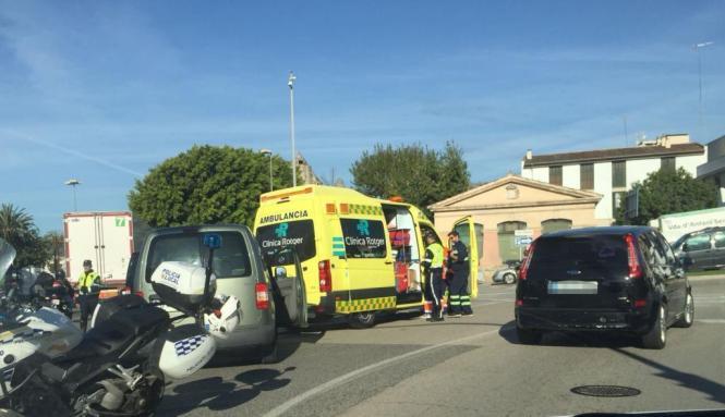 Bei dem Unfall an Palmas Paseo Marítimo wurde niemand verletzt.