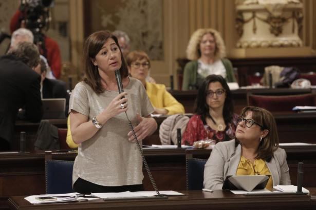 Balearen-Präsidentin Francina Armengol.