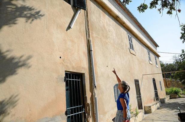 Nachdem die Okupas weg waren, konnte die Französin ihr Haus inspizieren.