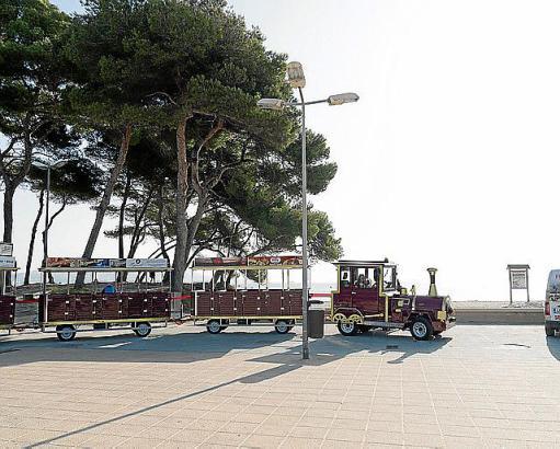 Die Touristen-Bahn an der Playa de Muro fährt ab sofort mit Erdgas.