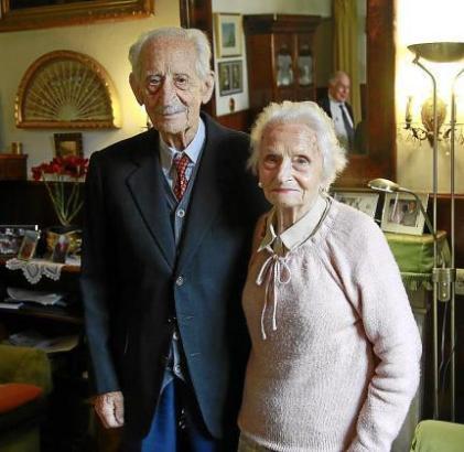 Oberst José María Massot und seine Frau.