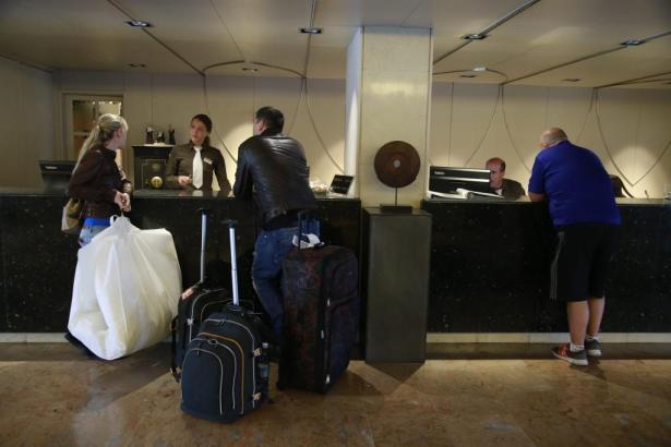 Verwunderung und auch Verärgerung herrschte bei einigen Hotelgästen.