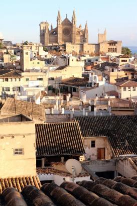 Reiche Zuwanderer verdrängen die Einheimischen aus ihren angestammten Wohnvierteln im Zentrum Palmas.