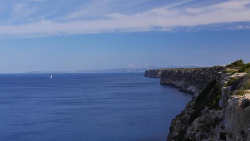 Schön und doch unheimlich: Das Meer vor Kap Blanc.