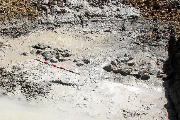 Einiges wurde bereits ausgegraben.