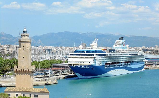 Die Marella Explorer ist in Palma eingetroffen: So sieht die bisherige Mein Schiff 1 heute aus.