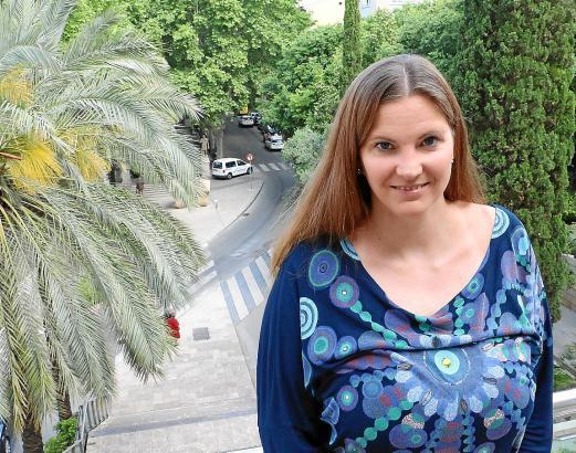 Anwältin Saskia Porta organisiert auf Mallorca zusammen mit ihrem Ehemann Dominic ehrenamtlich die Aktivitäten von Internations.