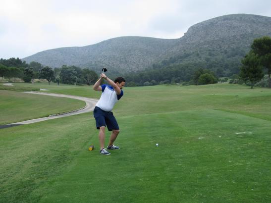 Am Samstag war es in Alcanada bewölkt aber warm. Die Golfer hatten Spaß.