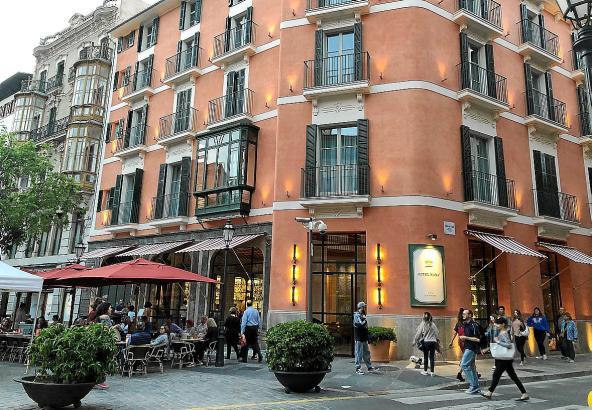 Ungeachtet der Zunahme der Zahl der Boutique-Hotels in Palma ist die Auslastung der Betriebe nicht gesunken - im Gegenteil.