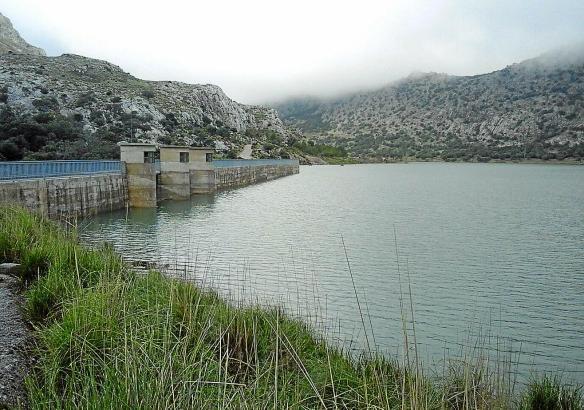 Die Stauseen im Tramuntana-Gebirge sind gut gefüllt.