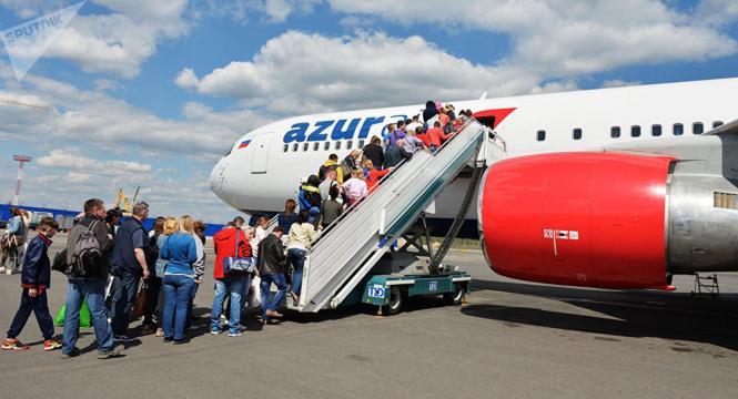 Azur Air bringt viermal pro Woche Urlauber aus Moskau und Sankt Petersburg nach Mallorca.