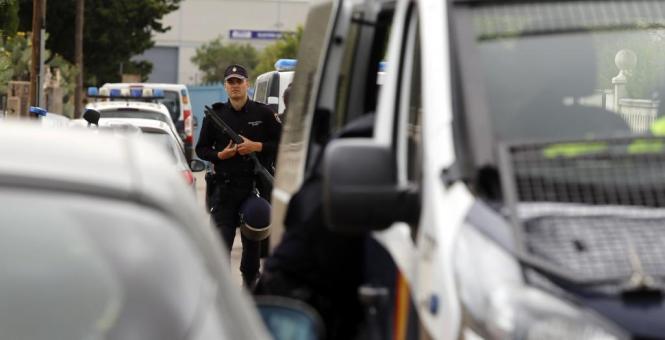 Innerhalb von wenigen Stunden gelang der Polizei die Festnahme des Gesuchten.