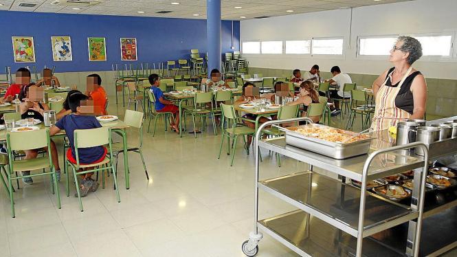 In den Mensen der Insel-Schulen soll es in Zukunft gesunder zugehen.