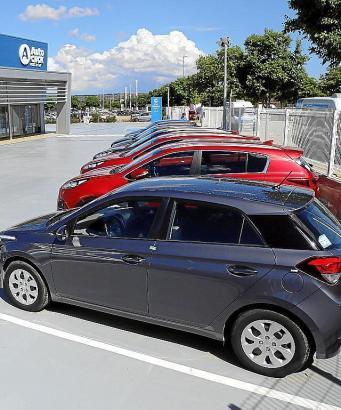 Der Firmensitz von Autoclick in Son Oms.