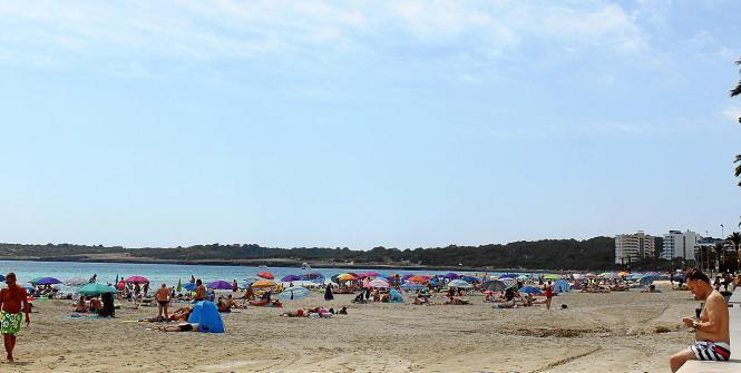 Der Strand von Cala Millor ist besonders bei Deutschen beliebt.