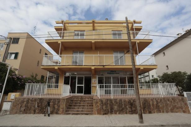 Die Unterkunft für Flüchtlinge an der Playa de Palma ist seit dem Umbau eines ehemaligen Hotels seit Mai 2016 in Betrieb.