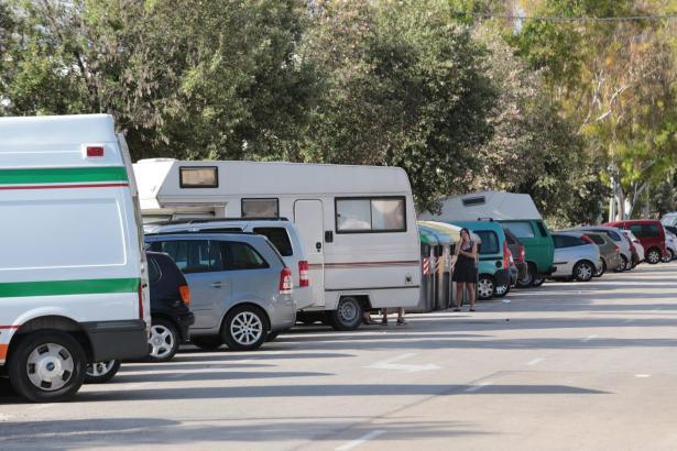 Campmobile in Ciudad Jardín.