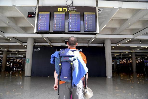 Wieder fallen am Airport Palma Flüge wegen eines Streiks aus.