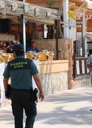 In Magaluf wurden acht Männer festgenommen.