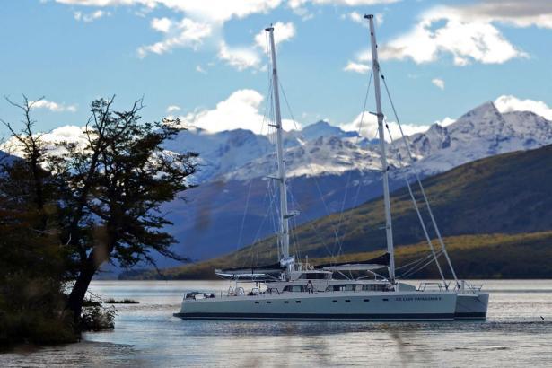 """Die """"Ice Lady Patagonia"""" ist hauptsächlich im südlichen Atlantik unterwegs."""