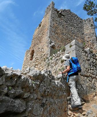 """Die Finca """"Es Verger"""", auf der sich das Castell d'Alaró befindet, kostet eine Million Euro."""
