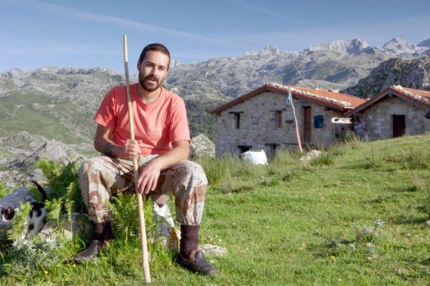 Nel hat die Hirtenschule besucht und blieb in den Picos.