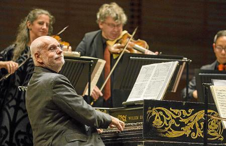 Das Konzert des Amsterdam Baroque Orchestra unter der Leitung von Ton Koopman (am Cembalo) ist eines der Highlights des Festival