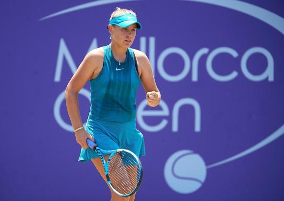 Sofia Kenin steht im Halbfinale.