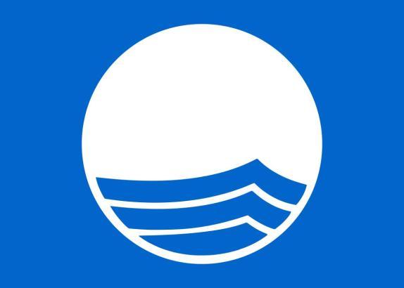 Das internationale Logo der Blauen Flagge.