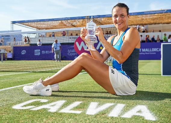 Tatjana Maria hatte nach ihrem Finalsieg allen Grund zum Strahlen.