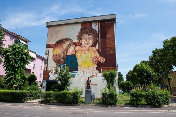 So sieht das fertige Werk in Mantua aus.