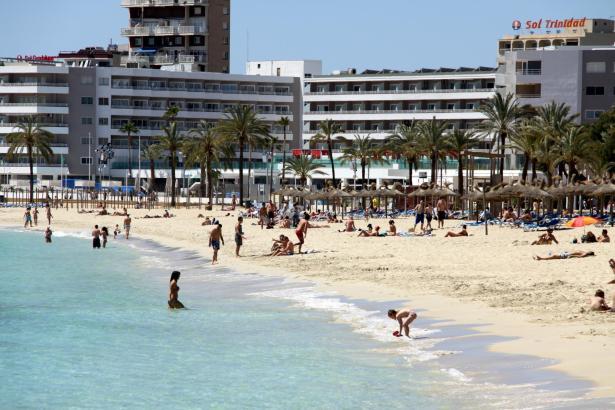 Die Hotels auf den Balearen waren bereits im Mai wieder gut besucht.