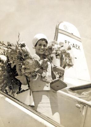 Bis heute kennt man sie auf der Insel: Die Mallorquinerin Maruja García Nicolau wurde 1962 zur Miss Europa gewählt.