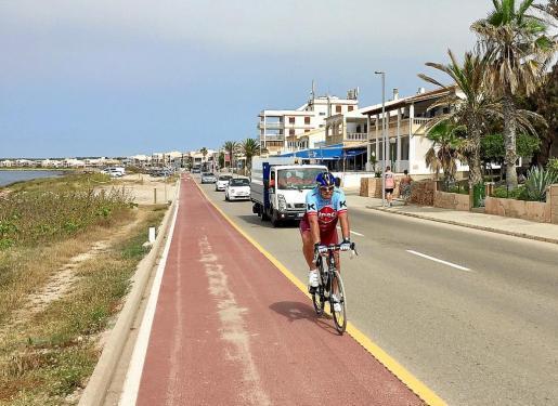 Die Küstenstraße im Inselsüden, die viele Deutsche von der Fahrt zum Es-Trenc-Strand kennen, soll sicherer werden.
