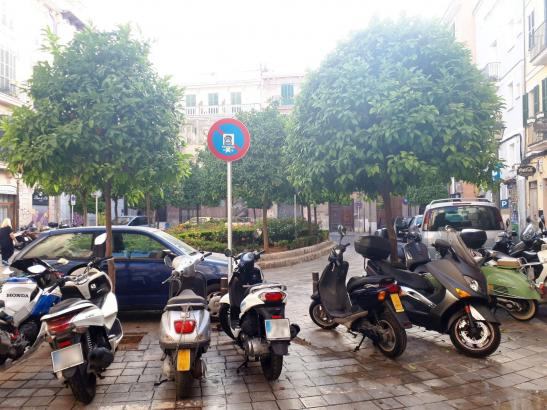 Palmas Plaça del Banc de l'Oli wird ab dem 1. August zur Fußgängerzone.