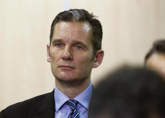 Königsschwager Iñaki Urdangarin bei einem Gerichtstermin auf Mallorca.
