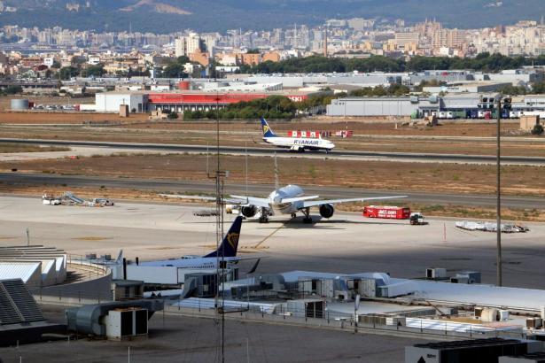 Auch im Juni verzeichnete der Mallorca-Flughafen Son Sant Joan Rekorde.