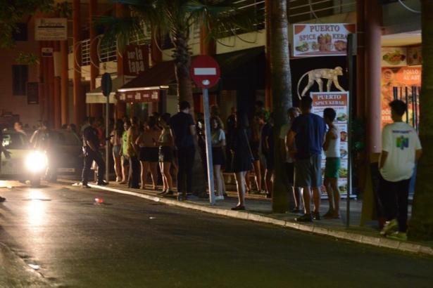 Die betroffene Diskothek auf Mallorca.