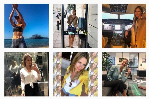 Influencerin Sara Johansson zeigt ihr Leben als Pilotin auf Instagram. Mit dem Account hat sie schon tausende Follower gewonnen.